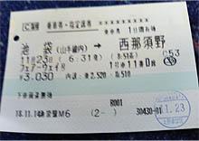 フェアーウェイチケット